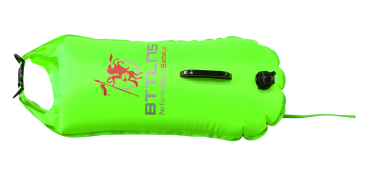BTTLNS Safety bouyance dry bag 28 liter Poseidon 1.0 Neon green