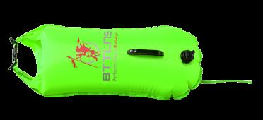 BTTLNS Safety bouyance dry bag 28 liter Poseidon 1.0 Neon green