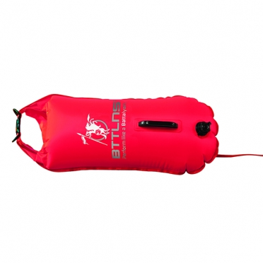 BTTLNS Safety bouyance dry bag 28 liter Poseidon 1.0 Red