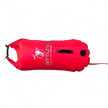 BTTLNS Safety bouyance dry bag 28 liter Poseidon 1.0 Red