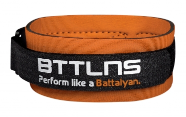 BTTLNS Timing chip strap Achilles 2.0 orange