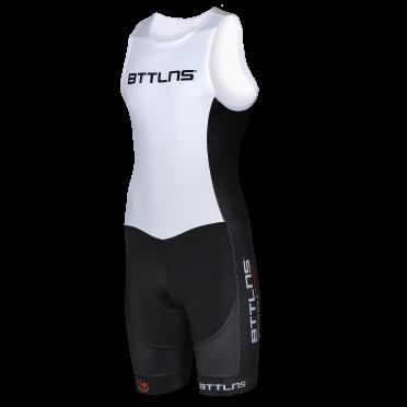BTTLNS Gods ITU trisuit sleeveless white Nemesis 1.0