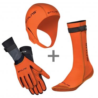 BTTLNS Neoprene accessories bundle orange
