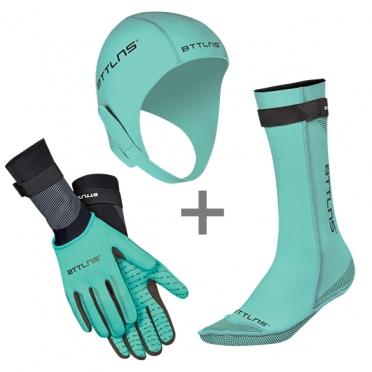 BTTLNS Neoprene accessories bundle mint