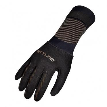 BTTLNS Neoprene swim gloves Boreas 1.0 gold