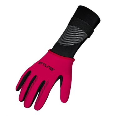 BTTLNS Neoprene swim gloves Boreas 1.0 red