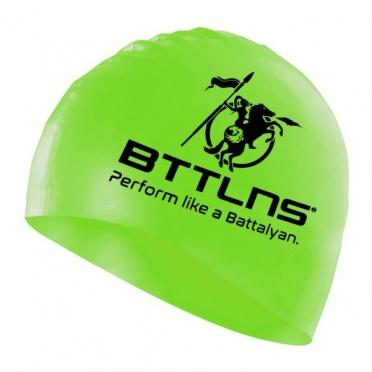 BTTLNS Silicone swimcap neon-green Absorber 2.0