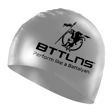 BTTLNS Silicone swimcap prestige silver Absorber 2.0