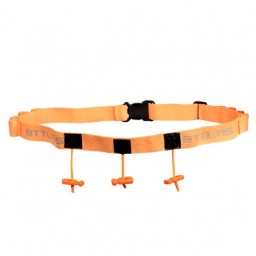 BTTLNS Race number belt Keeper 2.0 orange
