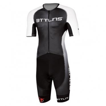 BTTLNS Gods trisuit short sleeve Typhon 2.0 black/white