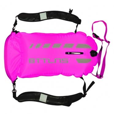 BTTLNS Saferswimmer 35 liter backpack buoy Tethys 1.0 Pink