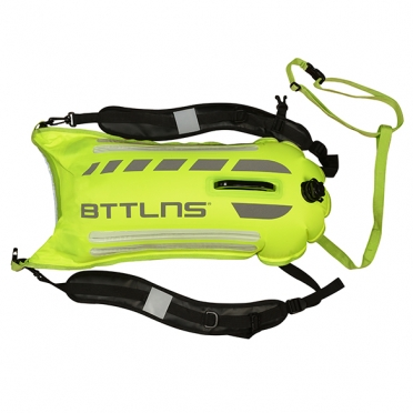 BTTLNS Saferswimmer security lighted buoy dry bag Scamander 2.0 green