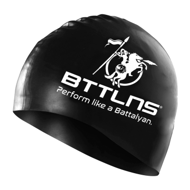 BTTLNS Silicone swimcap black Absorber 2.0