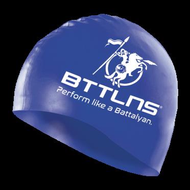 BTTLNS Silicone swimcap blue Absorber 2.0