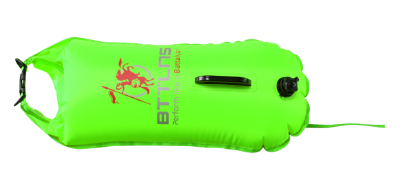 BTTLNS Safety bouyance dry bag 28 liter Poseidon 1.0 Neon green  0117003-040