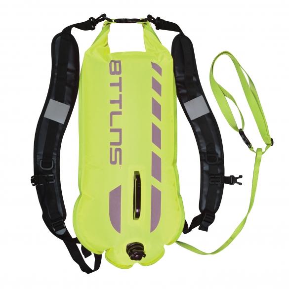 BTTLNS Saferswimmer 28 liter buoy Kronos 1.0 green  0121004-044