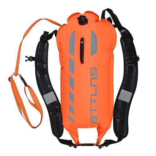 BTTLNS Saferswimmer 28 liter buoy Kronos 1.0 orange  0121004-034