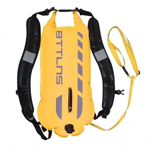 BTTLNS Saferswimmer 28 liter backpack buoy Kronos 1.0 yellow  0121004-032