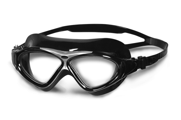 BTTLNS clear lens goggles black/silver Essovius 1.0  0119004-003