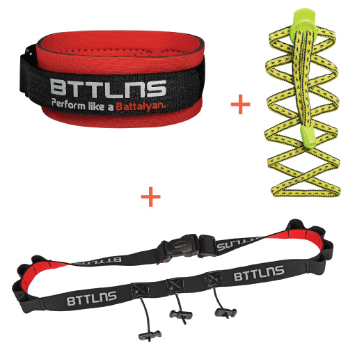 BTTLNS Triathlon accessories discount package yellow  0318004-666