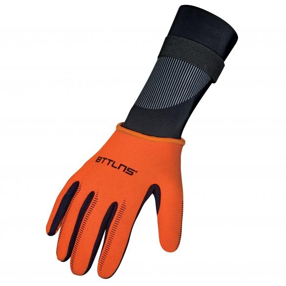 BTTLNS Neoprene swim gloves Boreas 1.0 orange  0120012-034