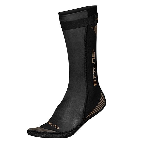 BTTLNS Neoprene swim socks Caerus 1.0 gold  0121010-087