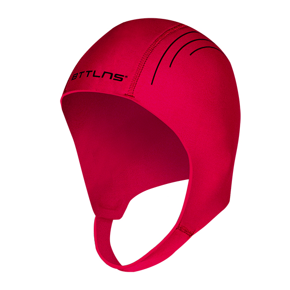 BTTLNS Neoprene swim cap Khione 1.0 red  0120010-003