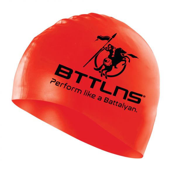 BTTLNS Silicone swimcap red Absorber 2.0  0318005-003