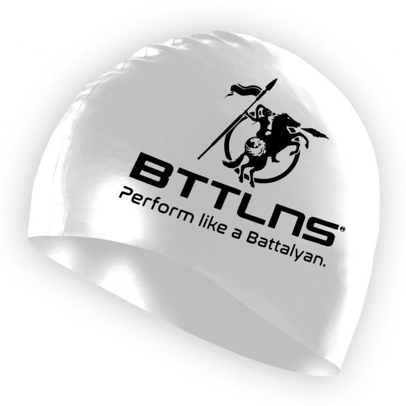 BTTLNS Silicone swimcap white Absorber 2.0  0318005-001