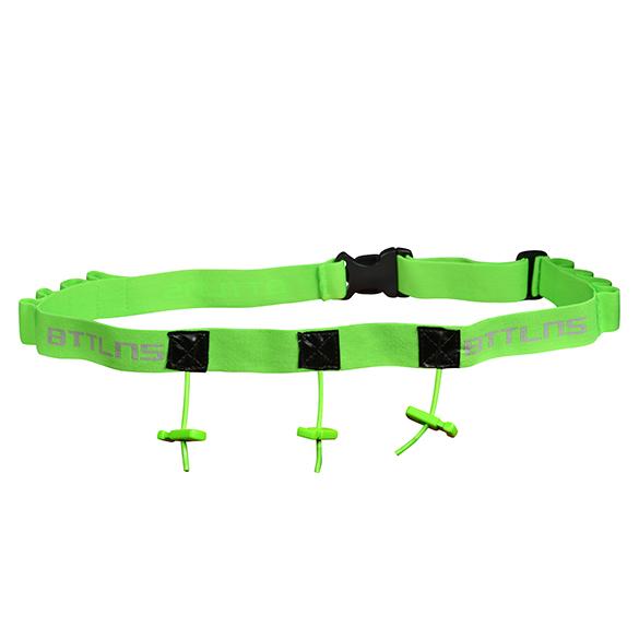 BTTLNS Race number belt Keeper 2.0 green  0318001-040