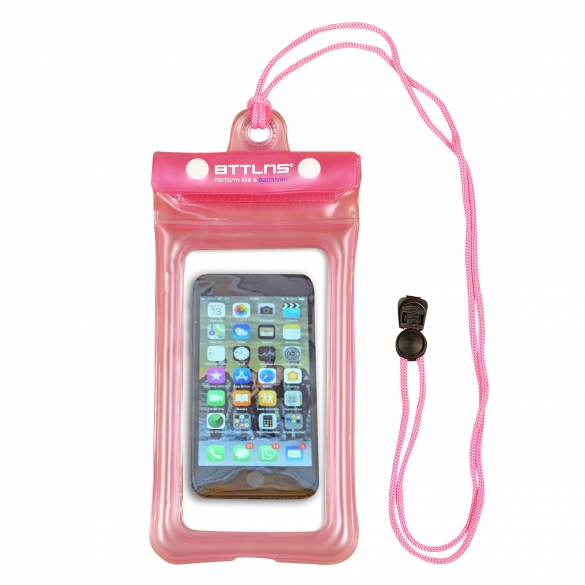 BTTLNS floating waterproof phone pouch Endymion 1.0 pink  06200011-072