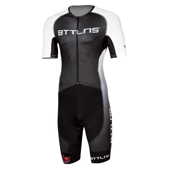 BTTLNS Gods trisuit short sleeve Typhon 2.0 black/white  0219008-120