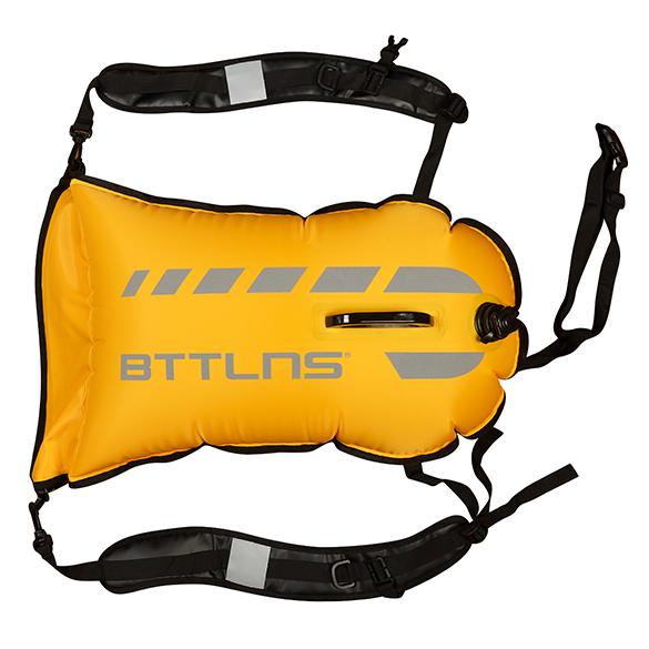 BTTLNS Saferswimmer 35 liter backpack buoy Tethys 1.0 Yellow  06200035-032