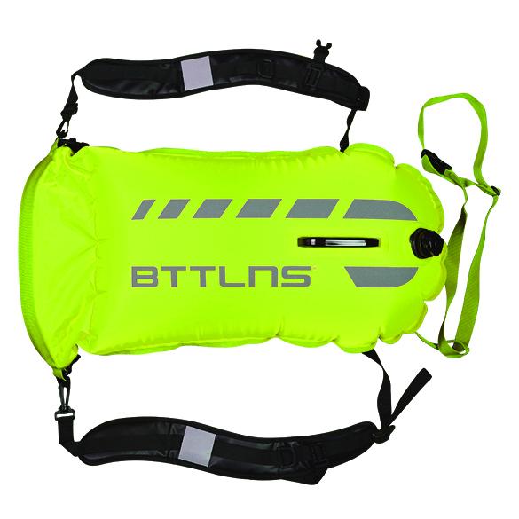 BTTLNS Saferswimmer 35 liter backpack buoy Tethys 1.0 Green  06200035-044