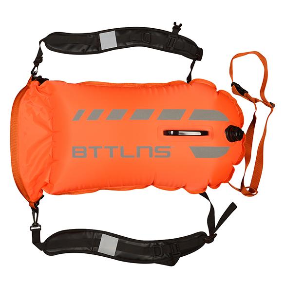 BTTLNS Saferswimmer 35 liter backpack buoy Tethys 1.0 Orange  06200035-034