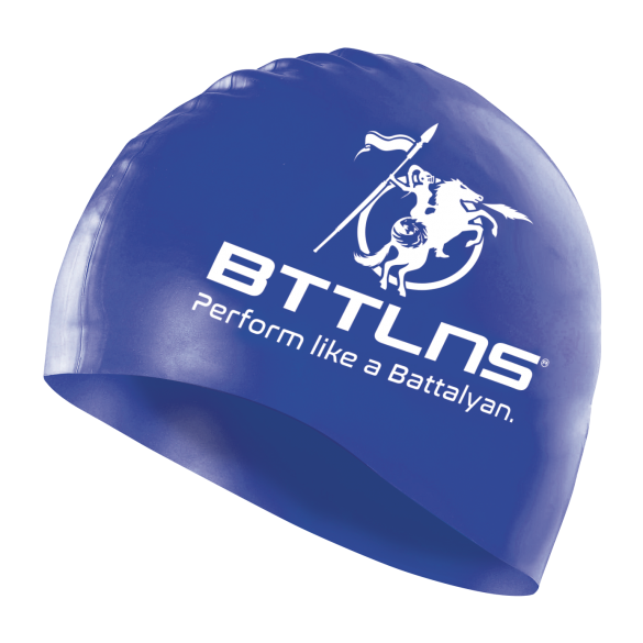 BTTLNS Silicone swimcap blue Absorber 2.0  0318005-059